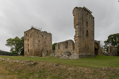 Spynie Palace (Mac ind Óg) Tags: castle summer scotland moray spynie ruin walking spyniepalace panorama palace holiday spyniecastle elgin
