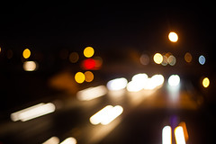 (cara zimmerman) Tags: highway interstate indianapolis freeway blur lights road cars