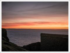 brean-down-sunset-1100655-090119 (Peadingle) Tags: sunset dusk brean down fort somerset