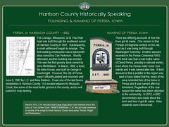 Persia_History (harrcogis) Tags: harrison county history persia iowa