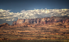 Mountains near Page, Arizona (donnieking1811) Tags: arizona page landscape mountains outdoors sky clouds blue hdr canon 60d lightroom photomatixpro