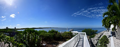 Gorgeous Blue Sky Blue Water Day Tampa Bay At Apollo Beach Florida - IMRAN™ (ImranAnwar) Tags: apollobeach beachlife blessed blue bluesky bluewater boardwalk boatinglife clouds d850 florida green imran imrananwar nikon ocean palmtrees panorama seaside sooc tampa tampabay water
