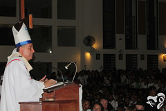Misa de Envió Peregrinos de Panamá - Iglesia de Lourdes