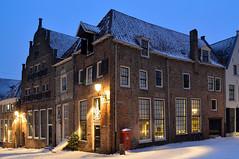 Winters Deventer (22-01-2019) (l-vandervegt) Tags: 2019 nikon d3200 nederland netherlands holland niederlande paysbas overijssel deventer winter sneeuw snow street straat building gebouw huis home