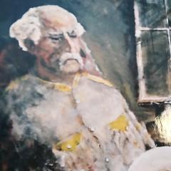 584 (Cheryl Gaer Barlow) Tags: painting impressionistic portrait man art