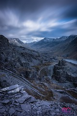 Enjoyed walking round the abandoned slate mine in Llanberis, struggled with composition a bit as everything looked a bit messy with slate piles everywhere, but quite like this shot.  Nikon D810 Nikon 16-35mm F4 @ 35mm Aperture @ F10 ISO @ 100 Exposure @ 6 (AC Photography 828) Tags: nikon nikond810 nikon1635mm formatthitech manfrotto landscape mountain lake water slate slatemine derelict abandoned urbex explore travel wales northwales northwalesphotographer snowdonianationalpark llanberis longexposure ndfilter beauty nature scenary