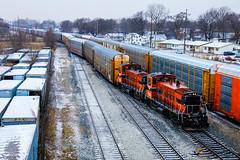 Hammond Harbor (BravoDelta1999) Tags: indianaharborbelt ihb railroad michigancentral mc railway newyorkcentral nyc gibson yard ryan interlocking hammond indiana emd sw1500 1516 1511 vehicle train