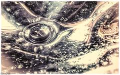 Wassertropfen / Waterdrop (Reto Previtali) Tags: wasser water licht light macro bw schwarzweiss tropfen drops schmutz nikon nikkor flickr digital pentax life coth5 sigma apple iphone