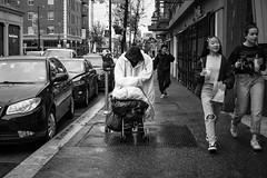 pushing through (gedankenstuecke) Tags: streetlife citylife berkeley california street bayarea streetscene streetscenes unitedstatesofamerica us