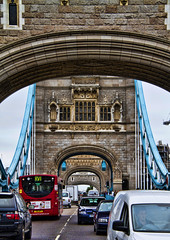 4 Arches - This is London #4 (Joseph Pearson Images) Tags: bridge towerbridge london arch arches hdr traffic