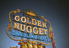 Golden Nugget Gambling Hall (jericl cat) Tags: neon sign vintage photo history golden nugget gambling hall icon lasvegas 1905 lucky flicker dusk gloaming