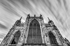 York Minster (Derwisz) Tags: englishgothic minster yorkminster architecture buildings cathedral church gothic holy medieval sacral sacred york northyorkshire unitedkingdom greateastwindow longexposure lowangleofview lowpov canoneos40d