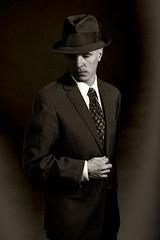 Solarized Affective Disorder (koni-omegaman) Tags: minneapolis minnesota usa selfportrait digital nikon man blackandwhite suit