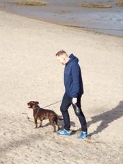 Tim and Syd (ralph&dot) Tags: morecambe bay beach