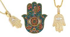 Hamsa – Hz. Fatma'nın Eli Kolyesi (gumuskolye) Tags: hz fatma ana eli gümüş kolye