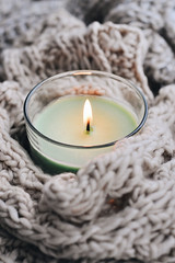 C40DBE78 (millenks) Tags: knitted candle candles home hygge cozy warm macro