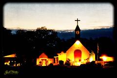 Chuch After Sunset - Palm Harbor (Jack Winter) Tags: bpc dunedin palmharbor bible sunset church presbyterian