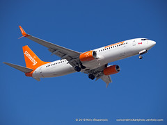 Sunwing B-737-800 (ConcordeNick ArtPhoto) Tags: aircraft airplane airliner jet flight flying aviation aviationphotography transport transportation travel boeing b737 b737800 sunwing concordenickartphoto concordenickartphotozenfoliocom olympus e5