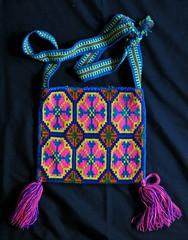 Huichol Morral Bag Bolsa Mexico Textiles (Teyacapan) Tags: wixarika huichol bags purses mexico bolsa morral embroidered textiles