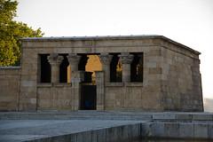 Atardecer en Templo de Debod egipcio Madrid 02 (Rafael Gomez - http://micamara.es) Tags: atardecer en templo de debod egipcio madrid parque