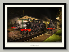 A night of London and South Western Steam (Nimbus20) Tags: lswr bluebell steam train br blackmagic dark night sussex