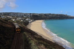 150249 (10) (ANDY'S UK TRANSPORT PAGE) Tags: trains class150 gwr greatwesternrailways carbisbay