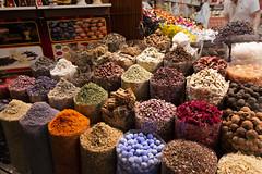 Spice Market (mopics347) Tags: spice spices color rainbow yellow orange blue green brown red purple saffron tan violet dubai uae unitedarabemirates deira souk