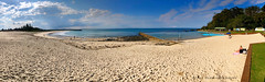 Forster Main Beach and Forster Ocean Baths, Forster, Mid North Coast, NSW (Black Diamond Images) Tags: forstermainbeach forsteroceanbaths forster midnorthcoast nsw nswoceanbaths oceanbaths oceanpool swimmingpool australianbeaches beach nswbeaches bullring