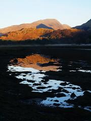 Loch Creran (Niall Corbet) Tags: scotland argyll glasdrum loch creran sunset reflection water