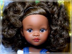 "Nora, by-Paola-Reina, doll, AA, 15"", 2018 (Evrika U) Tags: nora bypaolareina doll aa 15"" 2018 africanamericandoll photobyevrikagrecheskaja newdoll happynewyear"