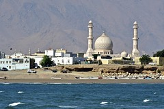 Oman 2018 - Al Ayiah (philippebeenne) Tags: oman sur sour lagune village fort castle