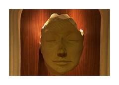 Wooden Face (Audrey A Jackson) Tags: canon60d wood sculpture lighting closeup