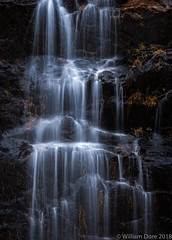 White on Black (Images by William Dore) Tags: waterfall nikon longexposure scotland visitscotland water landscape intimatelandscape outdoors outside uk nikond850 rain stream river highlands weather