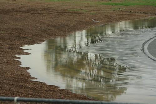 Wet Queensland Raceway