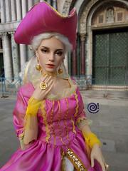 Venetian stroll (♫ Belenojon ♫) Tags: iplehousefidwoman bjd ball jointed doll venice masquerade raffine ooak fashion iplehouse