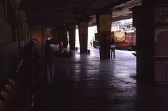 Railway station (Paolo Levi) Tags: railwaystation railway rajasthan india canon ftb fd 50mm ilfochrome