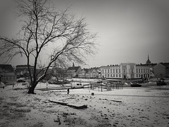 My city (wojciechpolewski) Tags: cityscape landscape city town kedzierzynkozle polska poland winter bnw bw blackandwhite blacknwhite blackwhite blanconegro photo photos monochromatico monochromatic monotone monochrom
