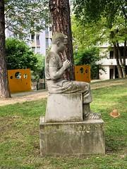 flûtiste-jardin+Chapeau-paille®© (alexandrarougeron) Tags: photo alexandra rougeron musique art