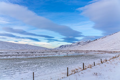 Langidalur Iceland (Einar Schioth) Tags: landscape langidalur winter sky snow day grass canon clouds cloud vividstriking blusky nationalgeographic ngc nature mountains mountain hunavatnssysla photo picture outdoor iceland ísland ice einarschioth
