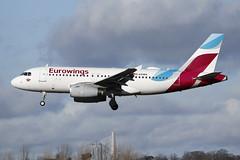 Airbus A319-132 D-AGWA Eurowings (Mark McEwan) Tags: airbus a319 a319132 dagwa eurowings aviation aircraft airplane airliner edi edinburghairport edinburgh