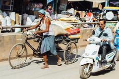Varanasi Traffic (AdamCohn) Tags: adam cohn ganga ganges india uttarpradesh varanasi autorickshaw rickshaw streetphotographer streetphotography traffic tuktuk wwwadamcohncom adamcohn