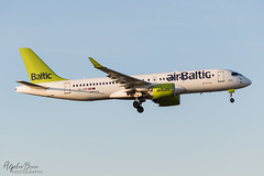 AIR BALTIC YL-CSF A220-300 EGKK 14/02/19 (_alphabravo) Tags: avgeek aviation aviationphotography airplane airport avporn airliner airline canon eos600d eos england planespotter planespotting photography plane planeporn sky window jet cloud aircraft wheel cockpit tree building egkk lgw gatwick gatwickairport