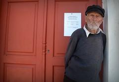 Oldboy 3 x (plot19) Tags: plot19 photography portrait people paxos greece old man mood male greek hat isle island isles islands red love