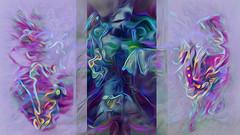 (K)AnalArt_56b (wos---art) Tags: bildschichten kanal art three communication kommunikation flowers blumen tulpen rosen farbkomposition sakrale räume