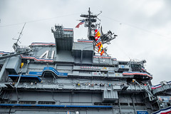 USS Midway Island (Serendigity) Tags: cv41 california navy pacificocean sandiego usa usn ussmidway unitedstates aircraftcarrier floating heritage maritime museum ocean sea seafront shoreline waterfront unitedstatesofamerica