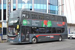 National Express West Midlands 6777 SN66WBY (Will Swain) Tags: wolverhampton 20th july 2018 birmingham west midland midlands city centre bus buses transport travel uk britain vehicle vehicles county country england english nxwm nx national express 6777 sn66wby