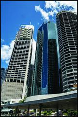 Tall Brisbane Riverside  office blocks-1= (Sheba_Also 44,000+ photos) Tags: tall brisbane riverside office blocks