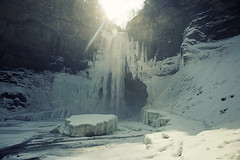 Ice Cube (Matt Champlin) Tags: spring springtime ice winter cold chilly frozen waterfall amazing huge towering icy sun hike hiking adventure outdoors canon 2019 ithaca gorge glen taughannockfalls taughannock incredible mist snow snowy