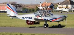 Evektor EV-97 EuroStar G-CDTA Lee on Solent Airfield 2019 (SupaSmokey) Tags: evektor ev97 eurostar gcdta lee solent airfield 2019