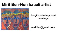 mirit ben nun contemporary painting paintings woman (mirit ben nun woman artist) Tags: woman weman female girl girls beautiful breathtaking bright brilliant charming classy clever perfect positive precious pretty provocative red hot romantic creative curius cute dedicated israel israeli exciting easy going dynamic dreamy down earth media abstract astonishing paint painting paintings draw drawing drawings real life live alive color colors colorful contemporary decorative figurative naive naife detailed point dot